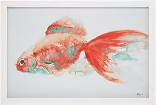 Urban Habitat Gilbert Goldfish Frame Art Orange See Below