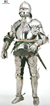 NauticalMart Medieval Gothic German Suit of Armor with Free Chainmail Halloween Costume