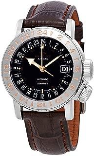 Glycine Airman 18 Purist Automatic Black Dial Men's Watch GL0228