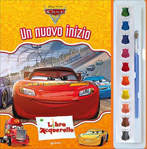 Cars 3. Un nuovo inizio. Libro acquerello. Con 10 acquerelli e 1 pennello