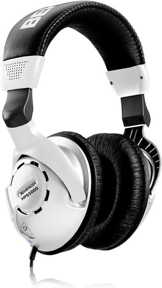 Behringer HPS3000 Studio Headphones Best BASS Guitar AMP Headphones