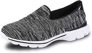 [ZXCP] レディース ニット 美脚 超軽量 着脱簡単 履きやすい アウトドアスリッポン 室内用 スリップオン 無地ナースシューズ 痛くない 疲れにくいスポーツスニーカー ニット ウォーキングシューズ 看護師 作業靴 疲れにくい