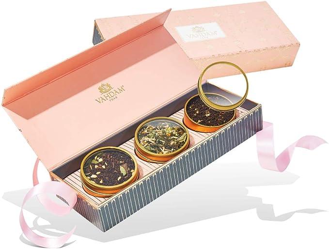 1517 opinioni per VAHDAM, set regalo di tè assortiti- Fard, 3 tè in una confezione regalo da