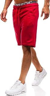 Hombre Pantalón Corto Pantalón de Chándal Pantalón de Algodón Estilo Diario 7G7