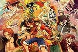 HQYMY DIY Puzzles-One Piece Collection-1000 Piezas De Madera Alta Dificultad Puzzle Adulto Discomresión Juguetes Niños Juegos Familiares
