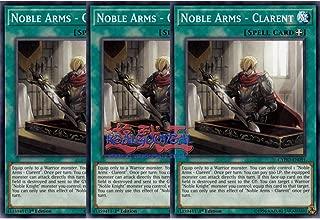 Mint x3 Noble Arms - Clarent MP19-EN144 Common 1st