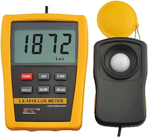HTC Instrument LX - 101A Light Meter Luxmeter, Measures Up-To 2,00,000 LUX by Supreme Traders Supertronics1989