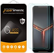 (2 Pack) Supershieldz for Asus ROG Phone 2 / ROG Phone II (ZS660KL) Tempered Glass Screen Protector, Anti Scratch, Bubble ...