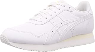 Asics Womens Tiger Runner Road Running Shoes, Color: White/White, Size: 38 EU