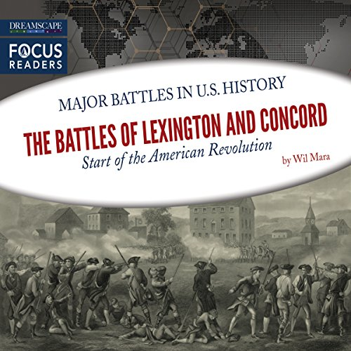 The Battles of Lexington and Concord audiobook cover art