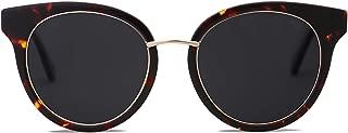 SOJOS Polarized Lens Sunglasses for Womens Mens Handmade Frame MOMENT