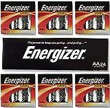 Energizer AA Max Alkaline E91 LR6 1.5V Batteries 'In Original Box' X 24