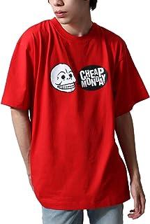 [チープ マンデイ] CHEAP MONDAY ロゴ 半袖 Tシャツ カットソー スカル 骸骨 プリント 綿100% 0640260