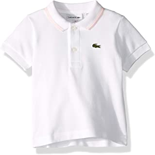 Lacoste Baby Infant Layette Short Sleeve Pique Semi Fancy Polo Gift Box