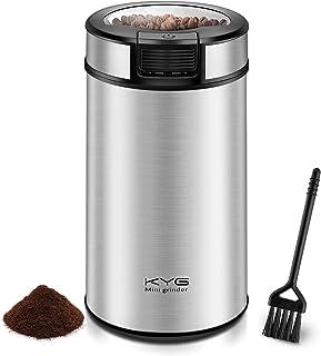 Kaffeemühle Elektrische Kaffeemühle 200W mit Schlagmesser 60g Fassungsvermögen Mühle..