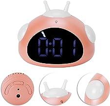 Barnväckarklocka, söt väckarklocka Lätt väckarklocka för barn för sovrum för barn