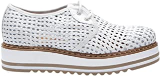 JACKAL Luxury Fashion Womens JL753 White Lace-Up Shoes | Spring Summer 19