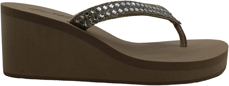 Thalia Sodi Womens Emira Open Toe Casual Slide Sandals