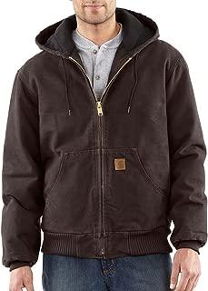 Men's Quilted Flannel Lined Sandstone Active Jacket J130
