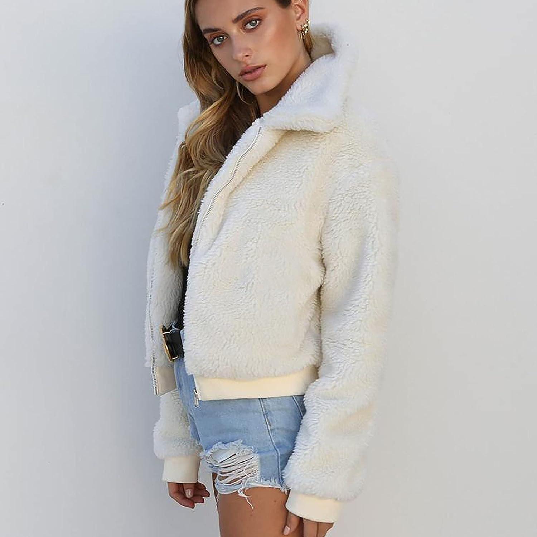 Women's Autumn Winter Long Sleeve Cardigan Warm Jacket Sweater Top