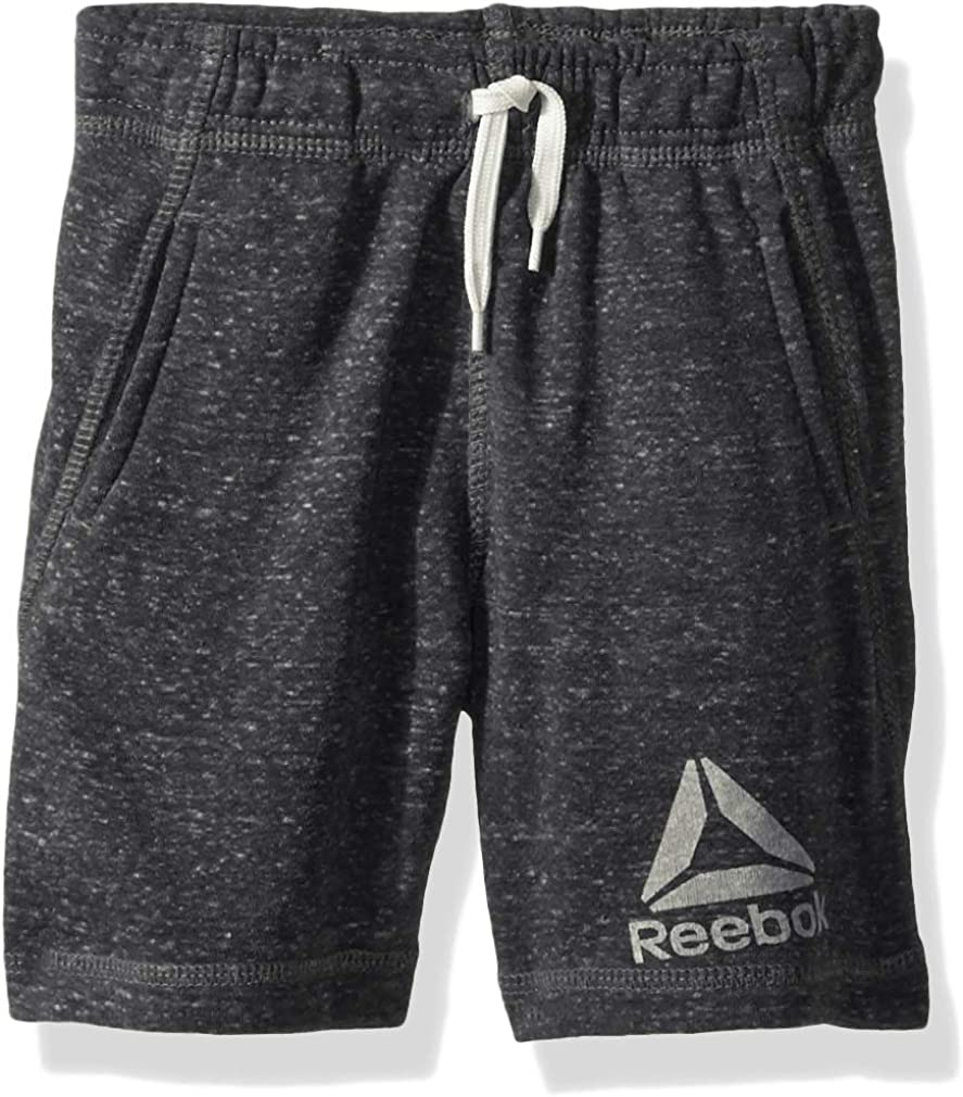 Reebok Boys' Toddler Snow French Terry Pull-on Short