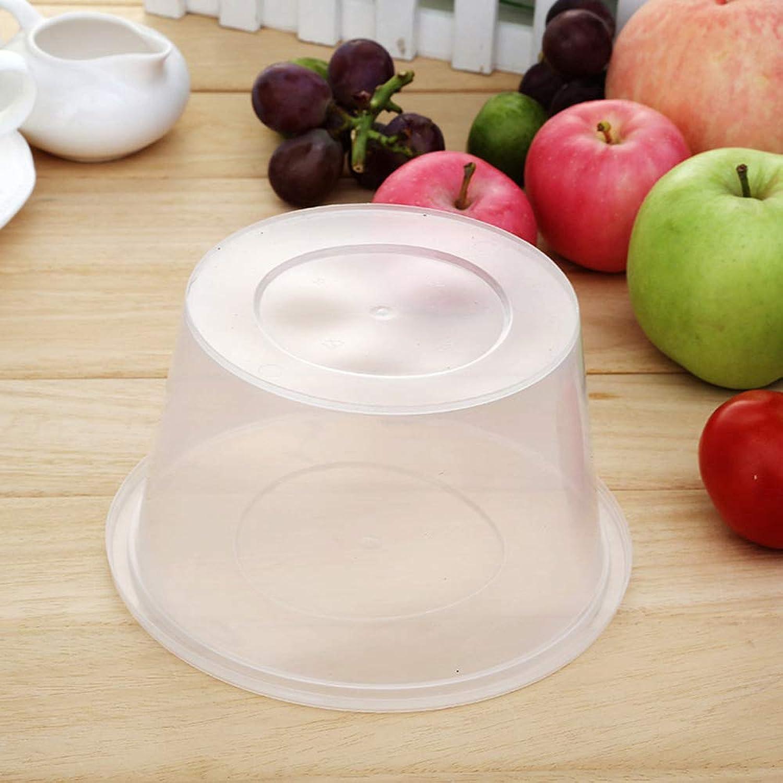 GYY Plato de Comida de plástico desechable para el Almuerzo  se Puede Usar con el Compartimiento de la Tapa Contenedores para la preparación de Comidas [Paquete de 50] (Color   M)