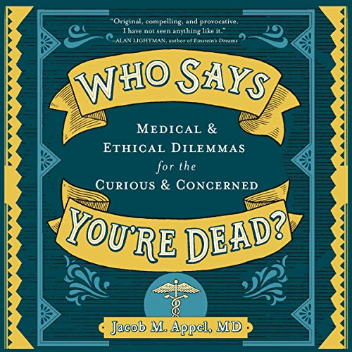 Who Says You're Dead? audiobook cover art