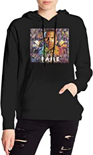 KarleDeal Chris Brown F.A.M.E. Women Fashion Long Sleeve Hoodie Winter Casual Sweater with Pocket