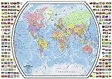 Puzzle Ravensburger Carte du monde Politique - 1000 Pièces