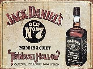 Memorabilia Jack Daniels Old No 7 JD Metal Tin Sign 40x30cm by Jack Daniel
