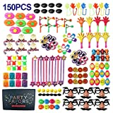 JUOIFIP 150 PCS Carnival Prizes for Kids Birthday Party Favor Prizes Box Toy Assortment for Birthday Pinata Fillers, Classroom Treasure Box Prizes and Carnival Games