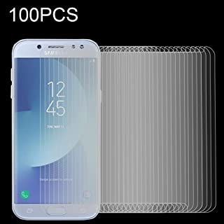 Screen Protector Foils 100 PCS for Galaxy J5 (2017) (EU Version) 0.26mm 9H Surface Hardness 2.5D Explosion-Proof Non-Full ...
