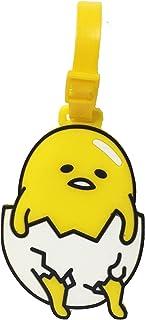 Gudetama Eggs Stylish PVC Suitcase Baggage Travel Luggage Id Name Tag