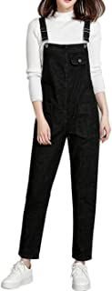 Gihuo Women's Baggy Denim Jean Overalls