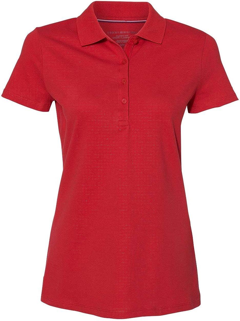 Tommy Hilfiger Womens Classic Fit Ivy Piqué Sport Shirt - 13H4534