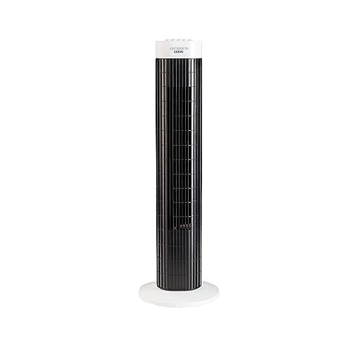 USHA Plastic Fiber Tower Fans (White and Black)