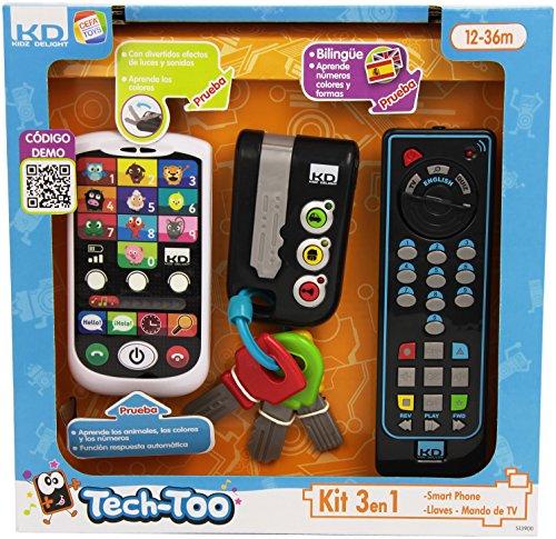 Cefa Toys - Set di Telefono, Chiavi e Telecomando,...