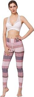 Samtree Women's Yoga Pants,Printed Fitness Gym Running Workout Sport Leggings