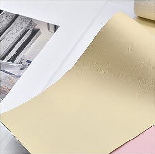 NXFGJ 0,8 mm D'épaisseurHaute Qualité, Cuir pour Couture Sac Souple en Tissu en Cuir Sac Dur en Cuir PU Main Bricolage en ...