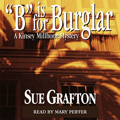 B is for Burglar audiobook cover art