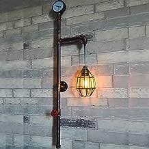 Idea Simple 4 Luces Creative Holding Hands Lámpara de Pared de Metal Industrial Retro Loft Tubo de Agua Lámpara de Pared Bar Showroom Cafe Decoración Lámpara de Pared Aplique, D-B