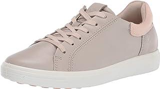 ECCO Women's Soft 7 Street Sneaker, Gravel/Rose DUST, 9 M US