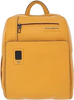 PIQUADRO Akron Business Zaino pelle 38 cm scomparto Laptop