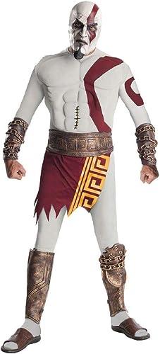servicio de primera clase Desconocido God of War Kratos Kratos Kratos Musclechest Costume Adult X-Large 44-52  mas preferencial