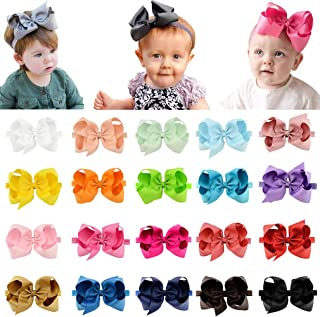 Baby Girls Headband Twisted Hair Band Knotted Elastic Soft Floral Headwraps Turban Accessories for Newborn Infant Toddler