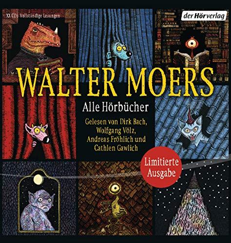 Alle Hörbücher: Die große Walter-Moers-Box. Limitierte Ausgabe