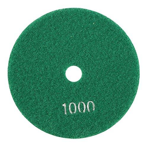 5pulgadas 125mm húmedo almohadillas para pulir de diamante discos de abrillantado para granito mármol hormigón, 1.00 voltsV