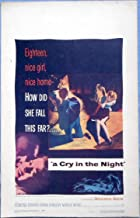 A CRY IN THE NIGHT MOVIE POSTER Natalie Wood Raymond Burr 1956