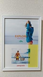 366SN patagonia パタゴニア 広告 切り抜きアートフレーム付セクシー ビキニ 水着 サーフィン インテリア おしゃれ 壁掛け