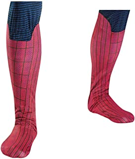 Disguise Marvel The Amazing Spider-Man 3D Movie Adult Boot Covers, Red/Blue, One Size Costume